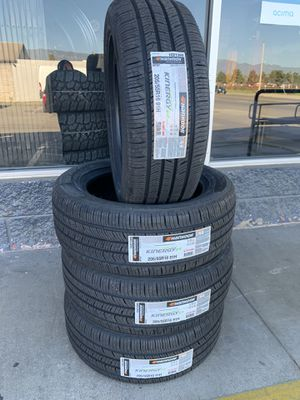 205/55/16 New set of Hankook tires installed for Sale in Ontario, CA