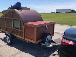 Custom Woody Teardrop Camper for Sale in Gulf Breeze, FL