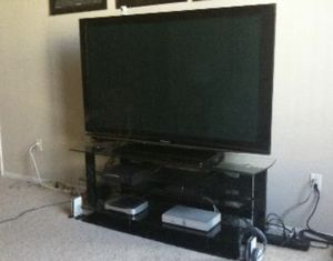 "Panasonic 65"" Plasma TV for Sale in Seattle, WA"