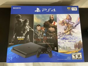 Playstation 4 Slim 1 TB Black Friday Bundle for Sale in Pembroke Pines, FL