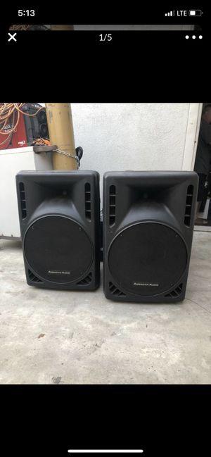 Speakers and mixer dj equipment for Sale in Hacienda Heights, CA