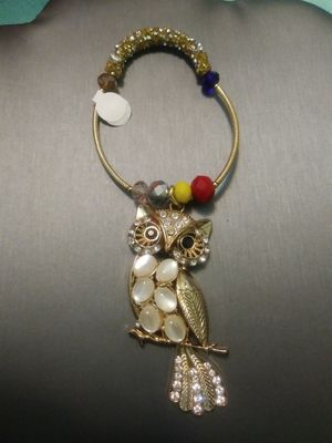 New owl charm stretchable bracelet for Sale in Yonkers, NY