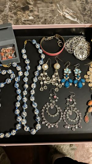 My jewelry collection, moving out of country! for Sale in Los Angeles, CA