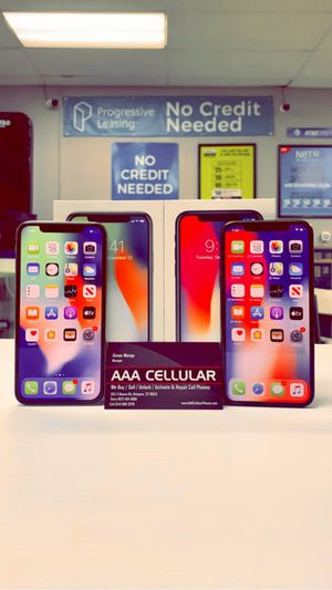 iPhone X - 256GB / 64GB - Factory Unlocked / ATT T-Mobile Verizon Sprint Starting @ for Sale in Arlington, TX