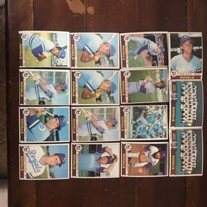 Topps Royals 1979 Baseball Cards for Sale in St. Charles, IL