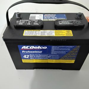 AcDelco Battery 27PG for Sale in Baton Rouge, LA