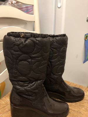 Coach women boots for Sale in Annandale, VA