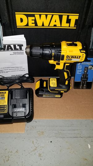New dewalt 20v MAX Brushless drill/driver with battery and charger for Sale in Ashburn, VA