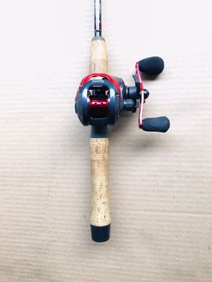 St Croix Fishing Rod 6' with Quantum Reel Baitcaster Combo for Sale in Glendale Heights, IL