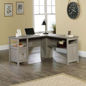 Cannery Bridge L-Desk, Mystic Oak Finish for Sale in Sterling, VA
