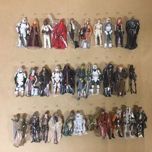 Star Wars Action Figures Hasbro and Kenner for Sale in Chino, CA