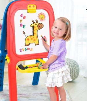 New!!Crayola 3 in 1 double easel, kids magnetic folding double board , double side easel for drawing and painting, kids toys, toy for Sale in Phoenix, AZ