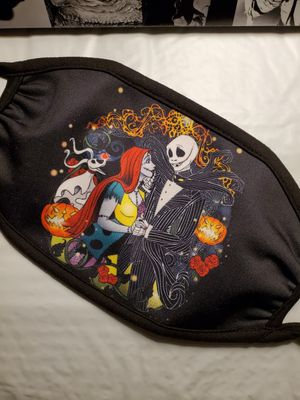 Adults Face Mask *Night Before Christmas Jack Skellington & Sally* for Sale in Los Angeles, CA