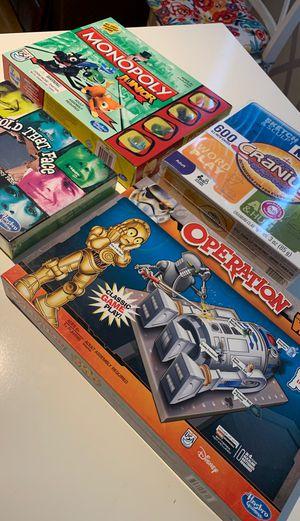 4 Fun board games for Sale in Chino, CA