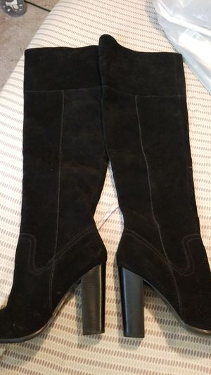 ALDO THIGH BLACK BOOTS for Sale in Edgewood, MD