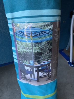 Patio Umbrella - Never used still in package for Sale in Lake Stevens, WA
