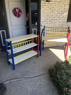Kids desk and bookcase for Sale in Stockton, CA
