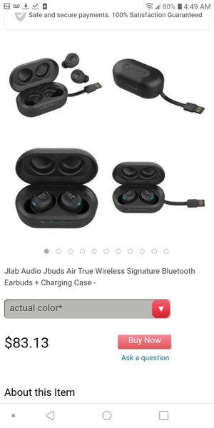 JLAB wireless earbuds w charging port for Sale in Sacramento, CA