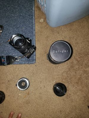 Nikon em camera with expensive lenses for Sale in Torrance, CA