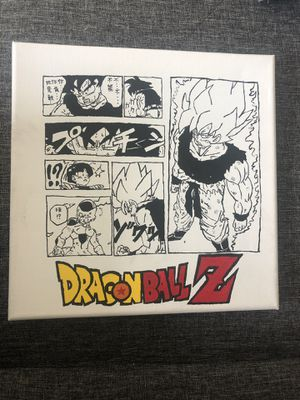 Dragonball Z hand painted canvas 10x10 for Sale in Seattle, WA