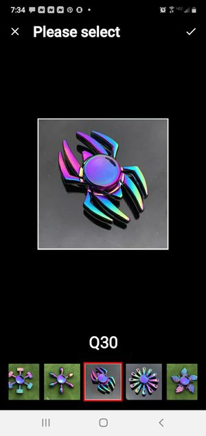 Multi Color Spider Fidget Spinner for Sale in New Britain, CT