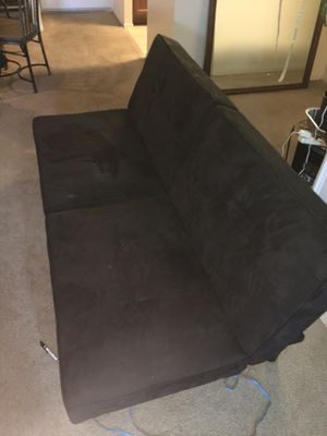 Black futton , excellent condition for Sale in Arlington, VA