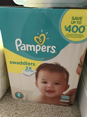 Pampers size 2 unopened box for Sale in Milton, FL
