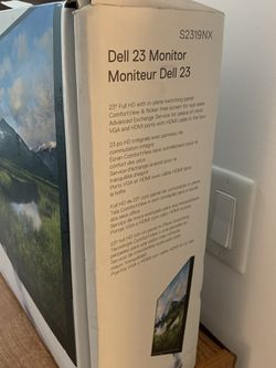 Dell 23 Inch Monitor for Sale in New York,  NY