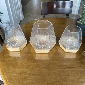 3 Matching Candle Holders, Votives for Sale in Spring Hill, TN