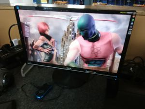 Asus 24 inch widescreen gaming monitor with HDMI DVI AND PC ports for Sale in Washington, DC
