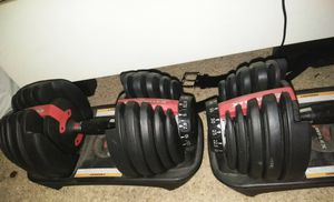 Bowflex adjustable weights for Sale in Pittsburg, CA
