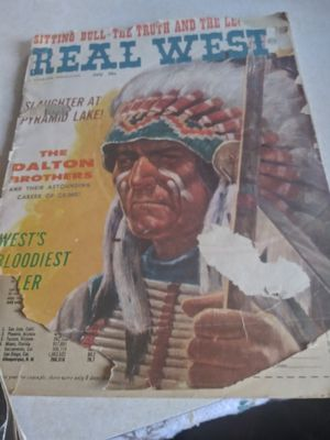 Old real west magazine fair condition late 18 to 1900s for Sale in Phoenix, AZ