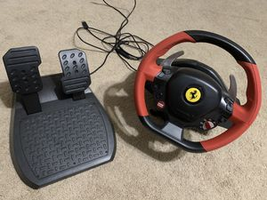 Thrustmaster Gaming Racing Wheel for Sale in Fresno, CA