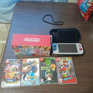 Limited Edition Pokemon Sword & Shield Nintendo switch Lite for Sale in Phoenix, AZ