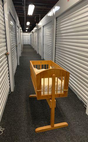 Handmade infant cradle for Sale in Rockville, MD