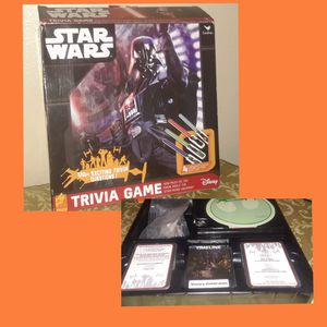 Disney Star Wars Trivia Game BRAND NEW SEALED for Sale in Metairie, LA