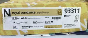 Royal Sundance felt digital 80 lb cover paper for Sale in Cashmere, WA