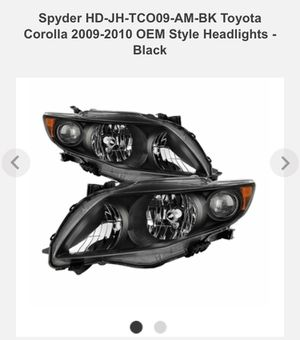 2010 Toyota Corolla headlights brand new for Sale in Amherst, VA
