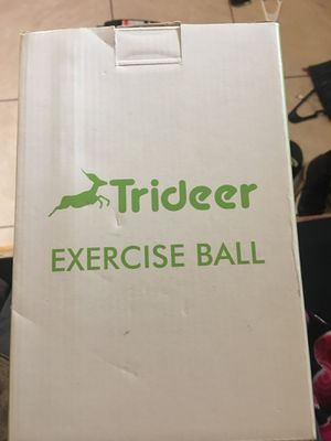 Exercise ball for Sale in Dallas, TX