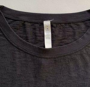 Lululemon Athletica Women's Thin SS Running Shirt Black Sheer Cotton Poly SZ 8 for Sale in Royal Palm Beach, FL