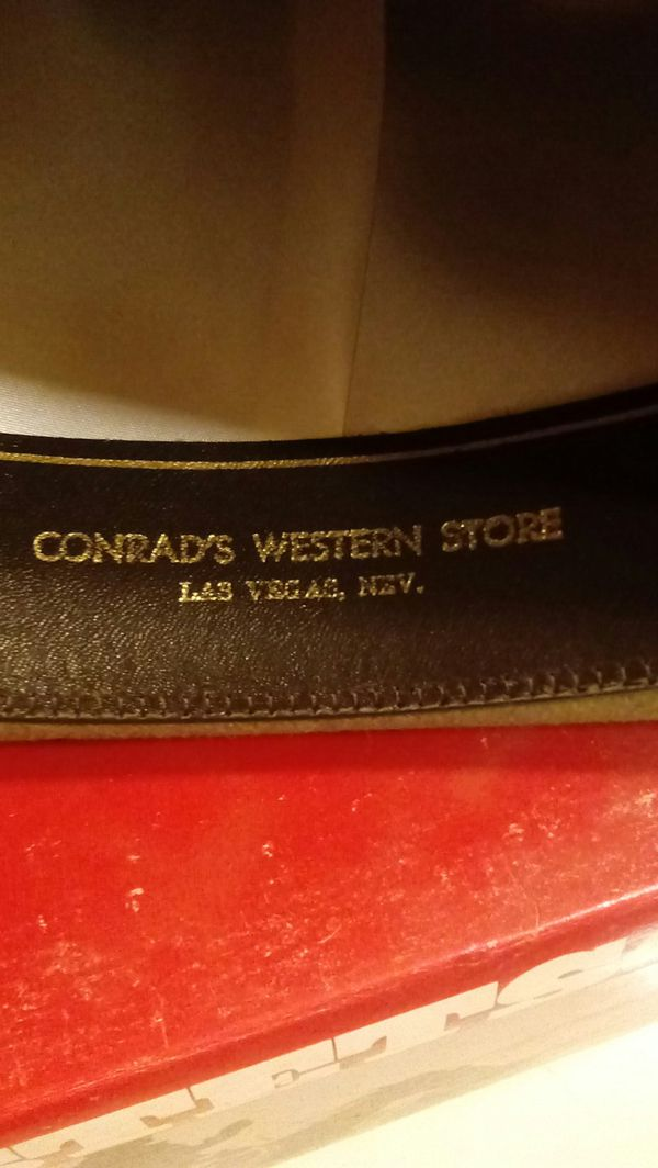9c3979044 **VINTAGE** STETSON Beaver Skin Cowboy hat. for Sale in Newton, NC - OfferUp