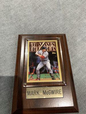 Mark McGwire baseball card for Sale in Medley, FL