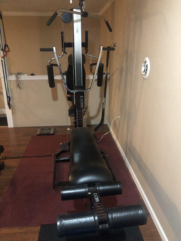 Marcy Mach 3 Home Gym