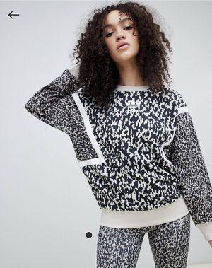 *NWOT* Adidas Sweatshirt in Leoflage Size 8 Women's for Sale in Apopka, FL