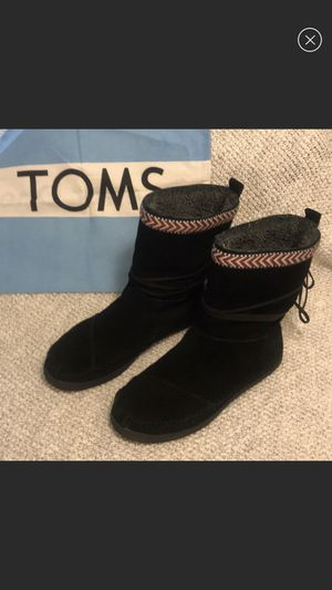 TOMS Suede Boots for Sale in Silver Spring, MD