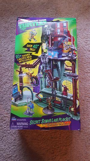Teenage Mutant Ninja Turtles Secret Sewer Lair Playset. for Sale in Alameda, CA