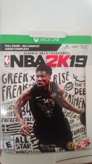 NBA 2K 19 FOR XBOX ONE for Sale in Los Angeles, CA
