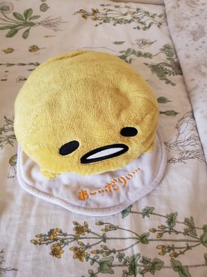 Gudetama lazy egg plushie for Sale in Chula Vista, CA