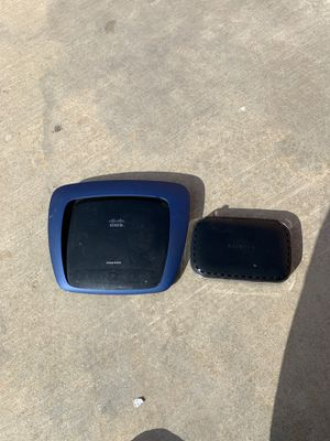 Internet modem and router Cisco and Netgear for Sale in Whittier, CA