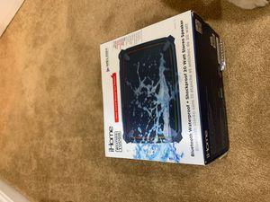 Ihome waterproof Bluetooth speaker lights up for Sale in Upton, MA